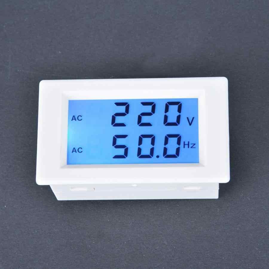 Двухпроводной ЖК-дисплей Экран измеритель напряжения вольтметра цифровой AC вольтметр тестер Напряжение детектор высокое качество