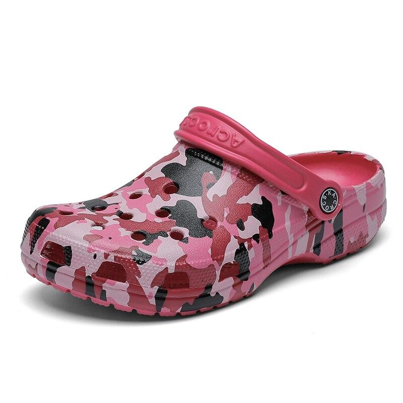 2020 Summer Beach Woman Shoes Crocks Clogs Women Flat Sandals Crocse Shoe Croc Slippers Shoes Sandalen Zapatos Sandalias Mujer