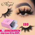 WOWANGEL Lashes 10/30/50 Pairs Wholesale 25mm 3D Mink Eyelashes In Bulk Thick Long Dramatic Fake Eyelashes Makeup Maquilla