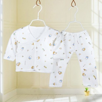 Cotton Yellow Elephant Pajamas