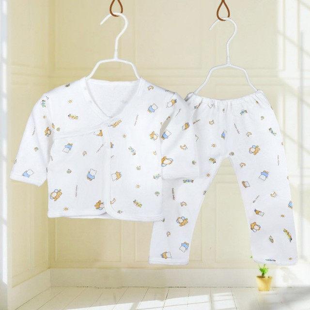 Cotton Yellow Elephant Pajamas