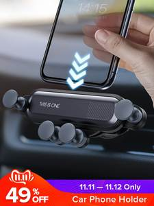 GETIHU Car-Phone-Holder Cell-Stand Clip-Mount Air-Vent Mobile-Support Xiaomi No-Magnetic