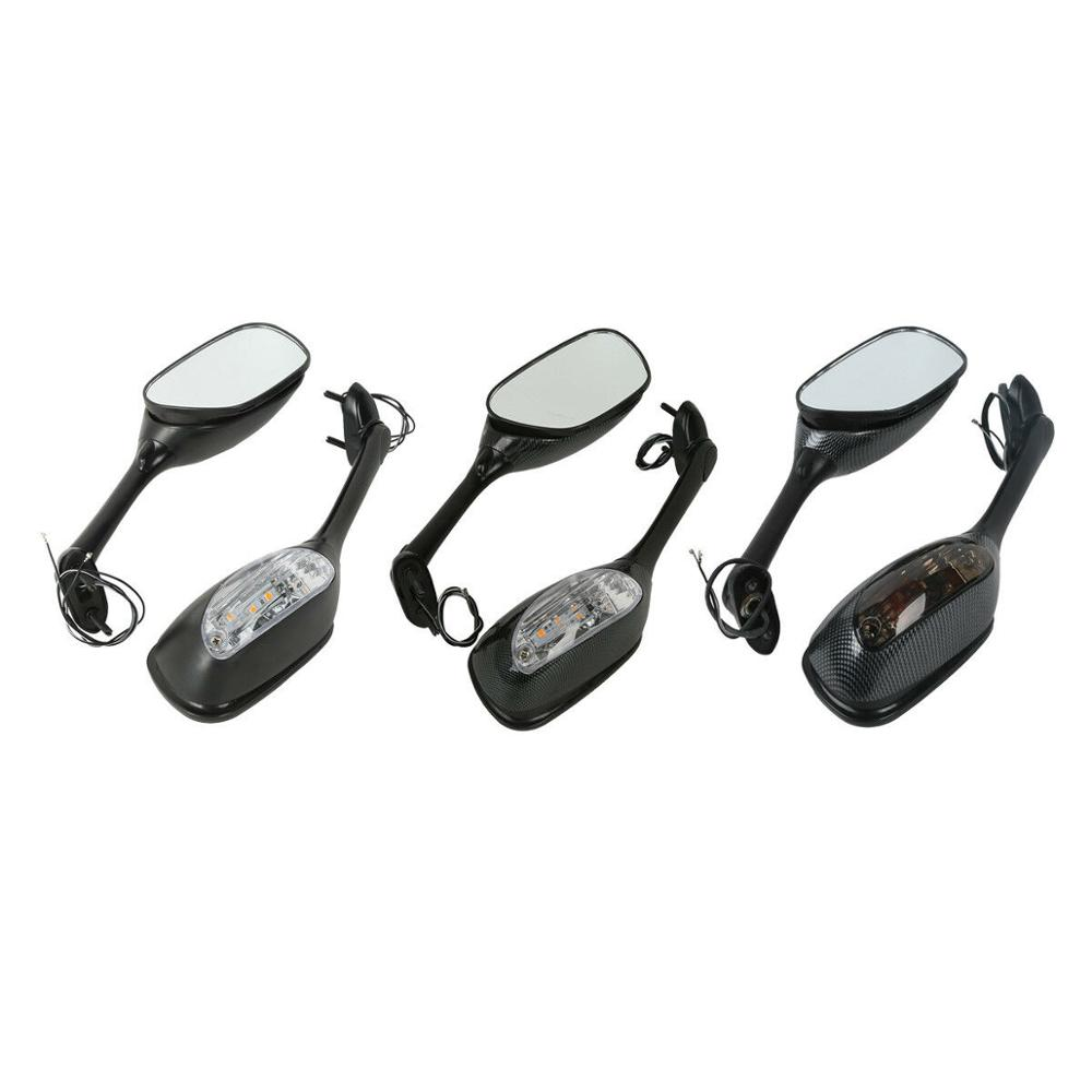 Motorcycle <font><b>LED</b></font> Rearview Mirrors Turn Signal For <font><b>Suzuki</b></font> GSX-R600 <font><b>750</b></font> 2006-2015 <font><b>GSXR</b></font> 1000 2005-2015 image