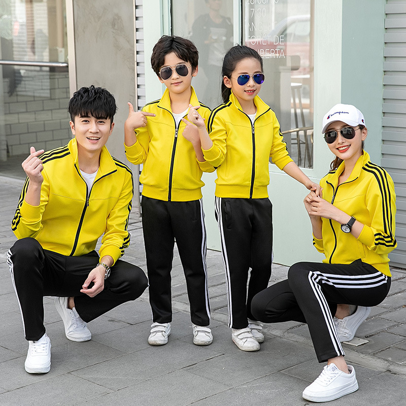 Spring And Autumn Junior High School Uniform Sports Clothing Set Men And Women High School Young STUDENT'S Business Attire Long