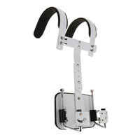 2 Pieces Marching Snare Drum Carrier Support Alloy Percussion Accessory Parts