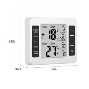 Image 4 - Home Wireless Indoor and Outdoor Thermometers Electronic Wireless Refrigerator Cold Storage Thermometer 94PC