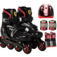 kids Shoes rollers sneakers skates hockey Inline Speed Skates Shoes Hockey Roller Skates Sneakers Rollers children Roller Skates