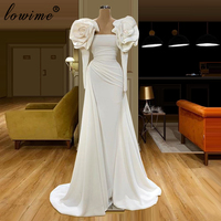 New Special Arabic Celebrity Dress Dubai Couture Turkish Abendkleider Formal Evening Dress Long Robe De Soiree Party Vestidos