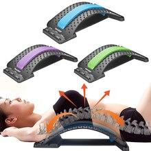 בחזרה לעיסוי אלונקה ציוד עיסוי כלים Massageador קסם למתוח כושר המותני תמיכה הרפיה עמוד השדרה כאב הקלה