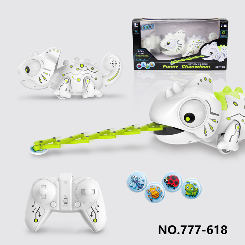 Remote Control Chameleon Axially Extensible Su Shi Money Electronic Smart Machine Long Wu Toy Shining Voice CHILDREN'S Toy 618