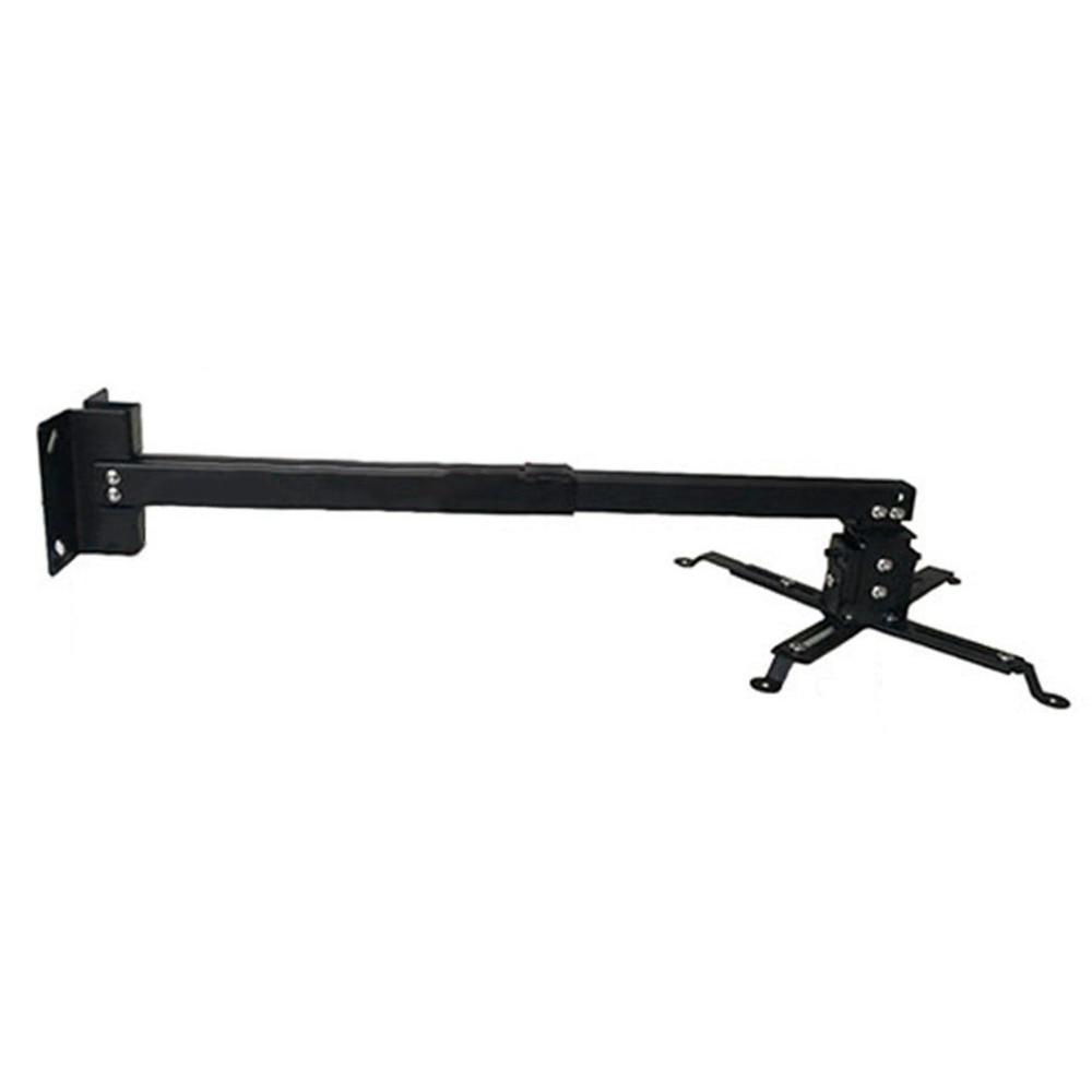Прочный проектор потолочный кронштейн Универсальный светодиодный проектор кронштейн держатель Регулируемый 43-65 см подвесной кронштейн поворотный держатель