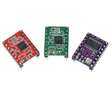 цена на 5pcs pololu A4988 driver Step Stick electronics practica 3D printer parts Reprap stepper motor driver with heatsink Allegro 4988