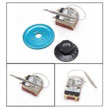 250V 16A регулятор температуры 30-110 градусов Цельсия ручка термостата капиллярный переключатель