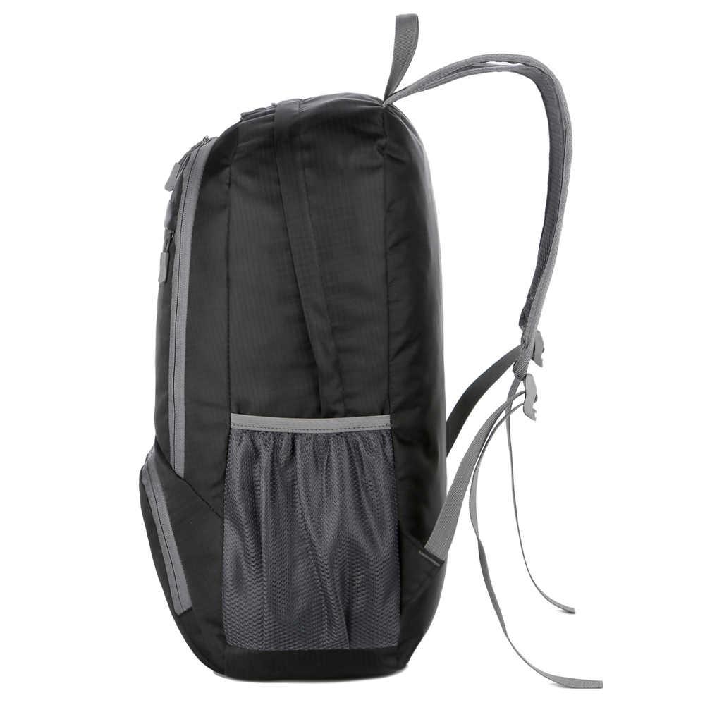 Ringan Tas Ransel Pria Wanita Packable Tahan Air Ransel Outdoor Perjalanan Hiking Tas Ransel Camping Tas Bahu