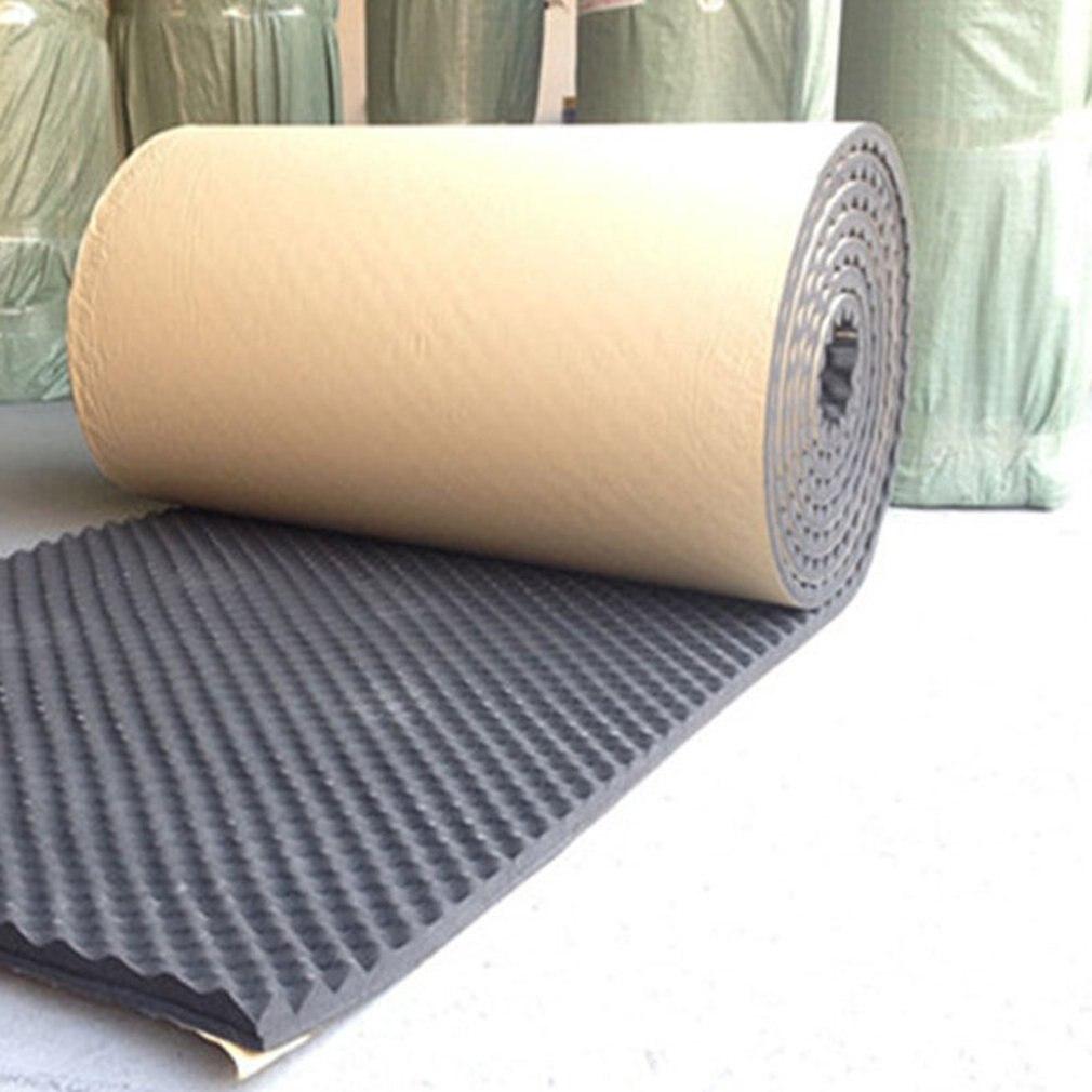 100x100 см звукопоглощающий коврик, изоляционный хлопковый шумоподавляющий звукопоглощающий пенопластовый сабвуфер, коврики для KTV студии зв...