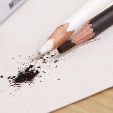 Коричневый белый эскизный карандаш Профессиональный задыхающийся карандаш для рисования Мел Нетоксичная основа Пастельная художественная подсветка эскиз угольная ручка