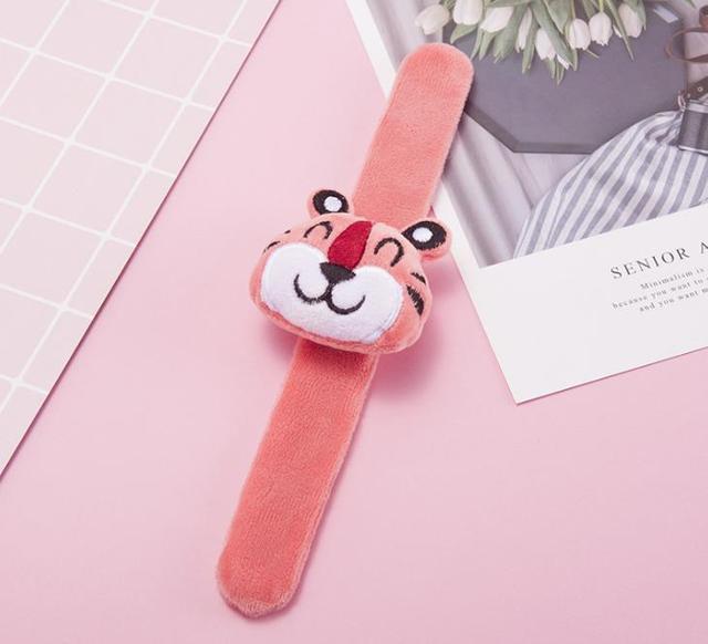 1 Pcs Cartoon Animal Unicorn Dinosaur Panda Tiger Stuffed Plush Toys for Kids Girls Christmas Gift Plush Bracelets Bangle Toys