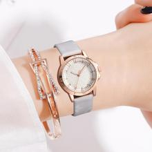 New Fashion Watch Simple Luxury Brand Women Black Quartz Flower Dial Small Student Female Watches 2019
