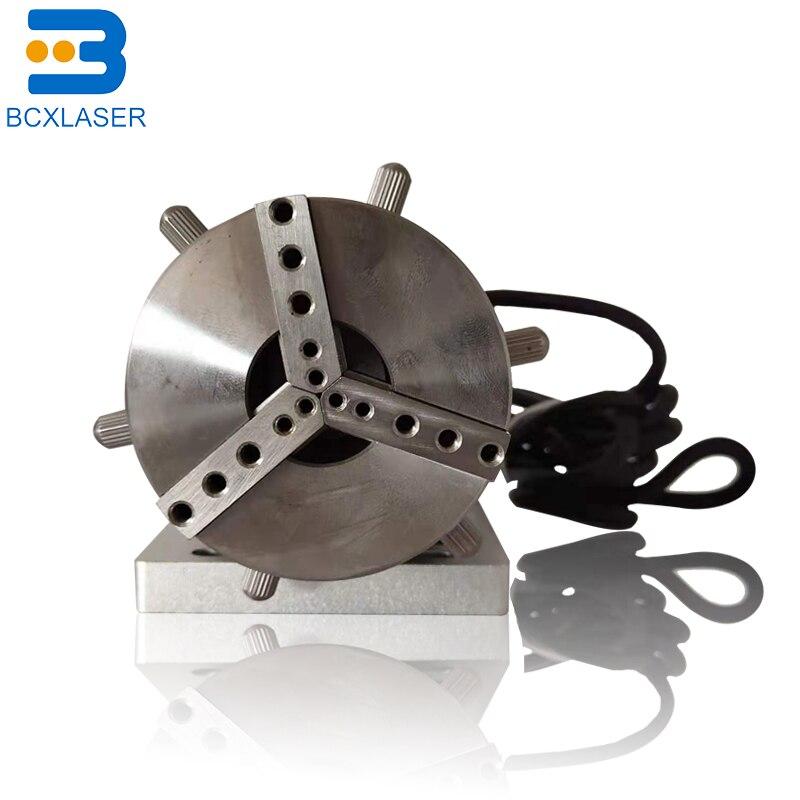 Axe rotatif 20 W/30 W/50 W Machine Laser à fibres axe rotatif pour marquage Laser Machine à fibres Laser pièces de rechange montage chine chaude