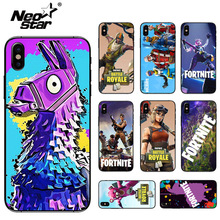 Christmas And Fortnite Game Phone Case For iPhone7 8 Plus iPhone XR X XS Max Plus цена и фото