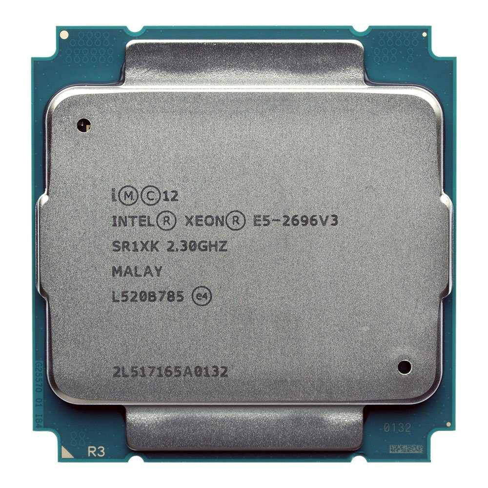 Intel XEON E5 <font><b>2696v3</b></font> 2696 V3 SR1XK 18-CORE 2.3GHz better than E5 2683 V3 LGA2011-3 Processor CPU image