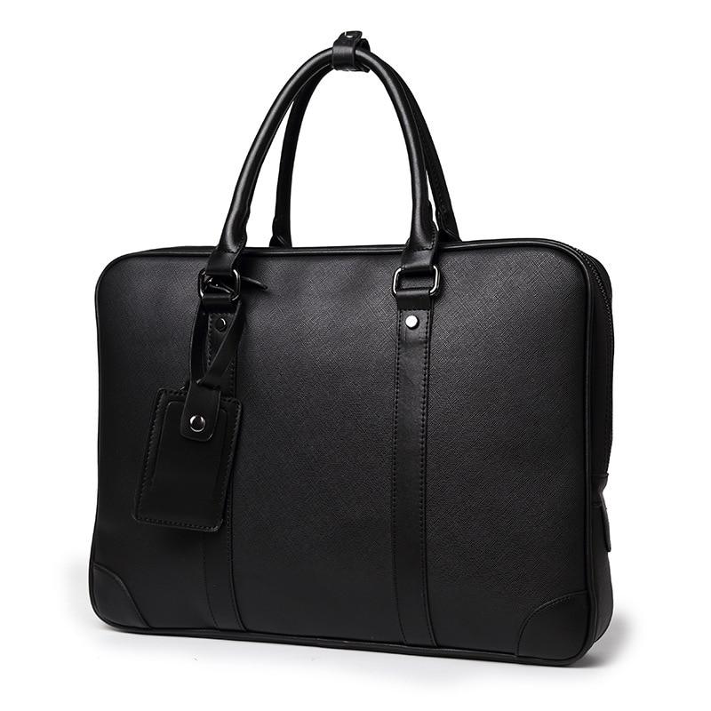 Men Briefcase Laptop Bags Good Nylon Cloth Multifunction Waterproof Handbags Business Shoulder Bags Mens Office Bags