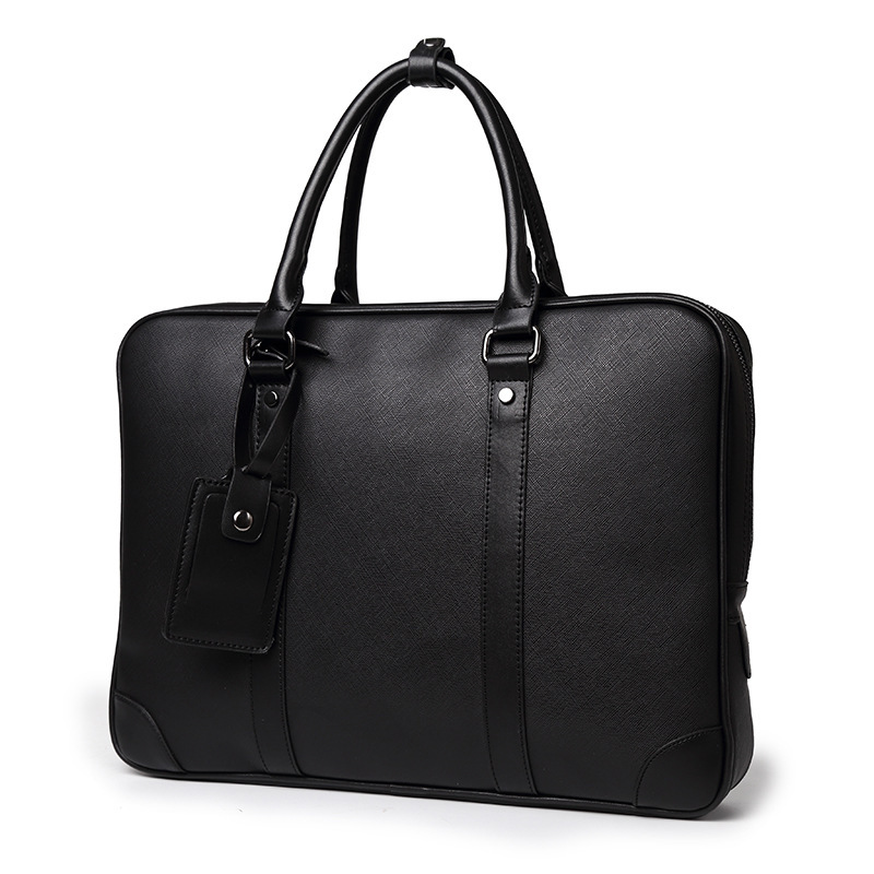 Men Briefcase Laptop Bags Good Nylon Cloth Multifunction Waterproof Handbags Business Shoulder Mens Office Bags