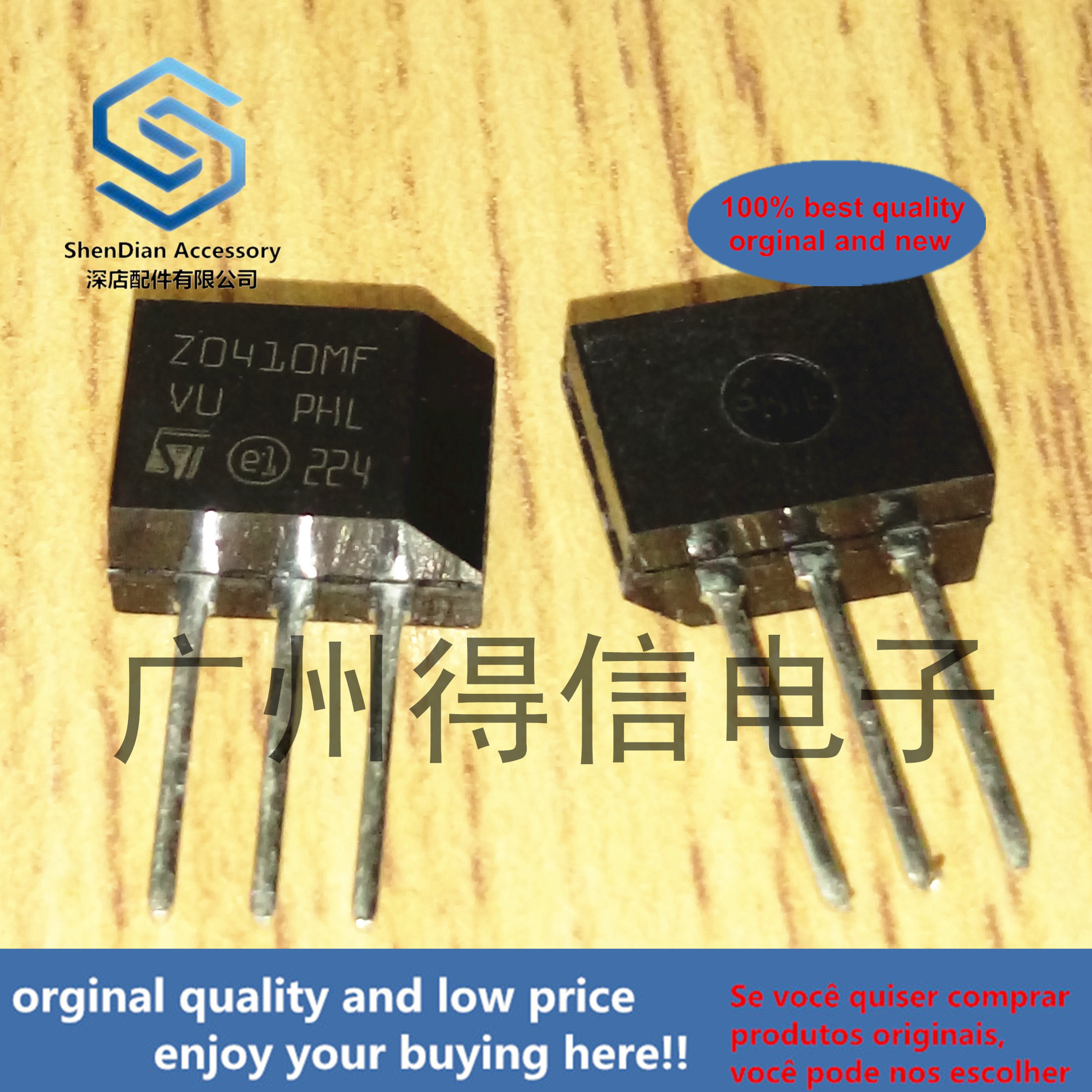10pcs 100% Orginal New Z0410MF Z0410 TO-202 Real Photo