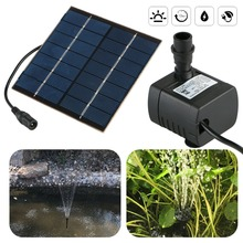 Solar Fountain Solar Water Fountain Pump for Garden Pool Pond Watering 7V 1.2W Solar Powered Water Pump 7v solar powered fountain water pump connect tube with nozzles solar birdbath fountain pump for garden waterfalls pond fish tank