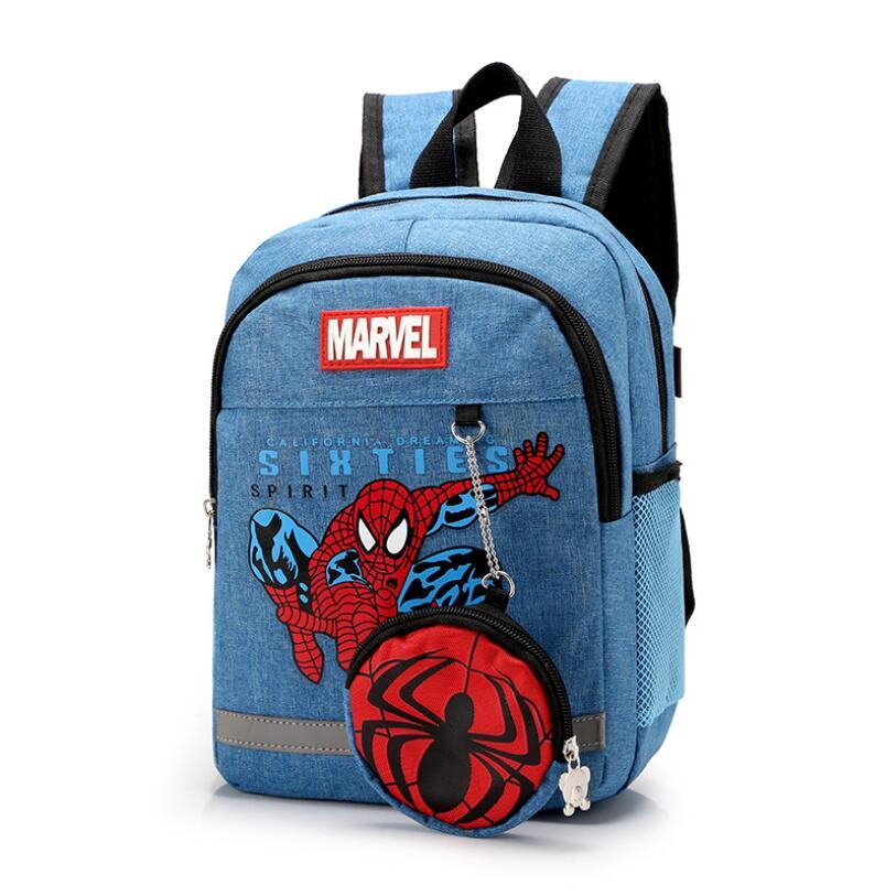 New Fashion Children School Bags Cartoon Backpack Baby Toddler Kids Book Bag Kindergarten Boy Girl Backpack