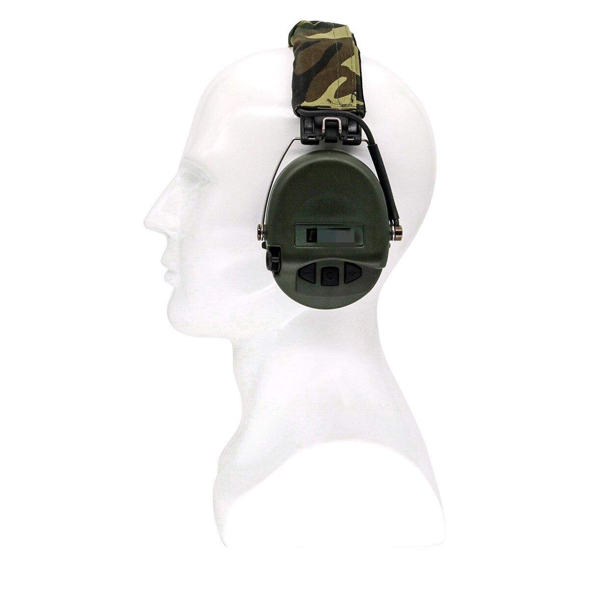 Тактические наушники MSA Airsoft Sordin, уличные охотничьи Электронные Наушники с защитой слуха и шумоподавлением, тактические наушники для стрельбы-5