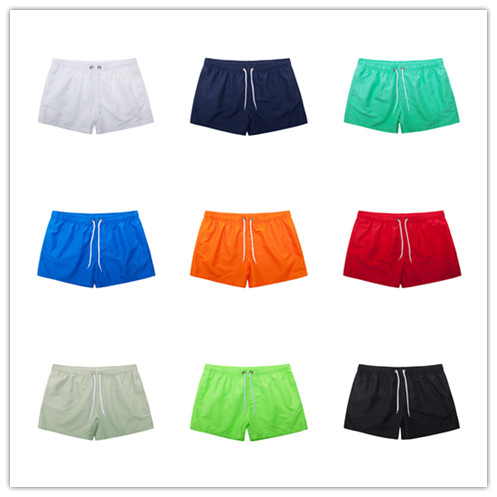 Pocket Swimming Shorts For Men Swimwear Man Swimsuit Swim Trunks Summer Bathing Beach Wear Surf  beach Short board pants Boxer 4