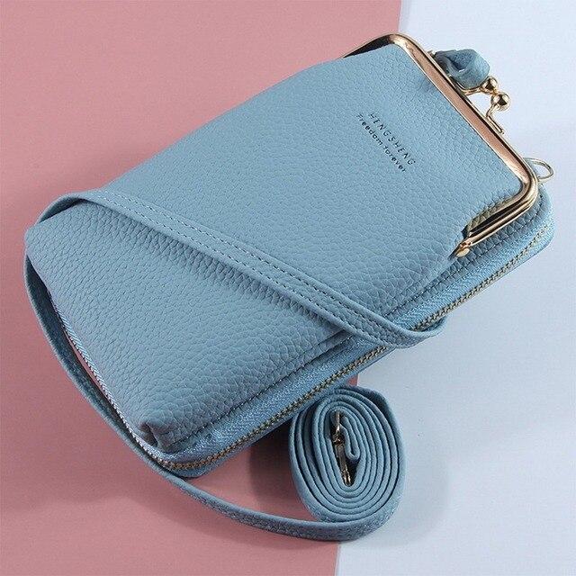 HOT Fashion Small Crossbody Bags Women Mini Matte Leather Shoulder Messenger Bag Clutch Bolsas Ladies Phone bag Purse Handbag 4