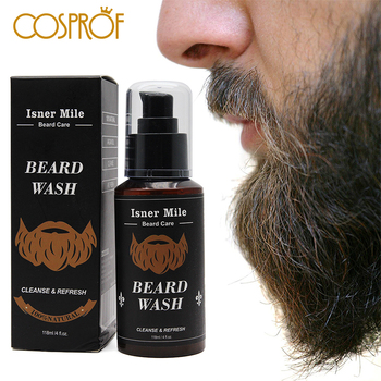 Beard Wash Men's Beard Shampoo Deep Cleansing Nourishing Beard Cleanser Moisturiser Deep Cleansing Beard Wash Shampoo nourishing shampoo