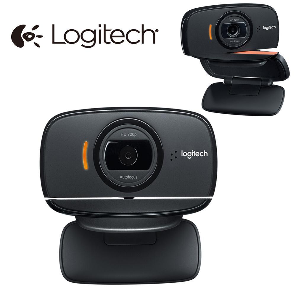 Logitech C525 HD Webcam Portable 360 rotatif 720p appel vidéo Mono Microphone Autofocus USB Web caméra pour Windows 7/8/10