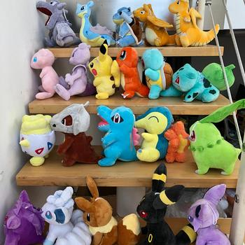 41 Style Pokemoned plush doll Pikachued stuffed toy Charmander Squirtle Bulbasaur Jigglypuff Eevee Snorlax Lapras kids gift 3