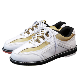 High Quality Unisex Bowling Shoes Right-hand Anti-skid Outsole Sneakers Genuine Leather Breathable Men Women Sneakers