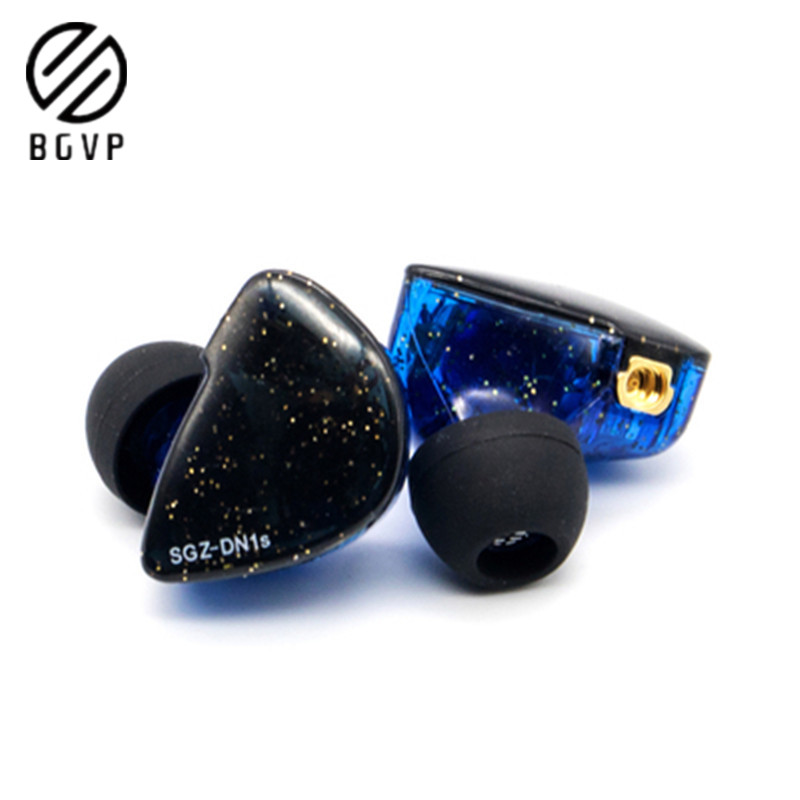 BGVP DN1S 1BA 1DD الهجين سماعات أذن داخل الأذن التوازن الديناميكي المحرك HIFI الموسيقى سماعات انفصال MMCX DMG DMS DM7 DM6 DH3|سماعات الهاتف وسماعات الرأس|   - AliExpress