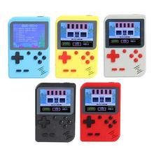 GC26 المحمولة لعبة فيديو وحدة التحكم ريترو يده جيب صغير لعبة لاعب المدمج في 500 الألعاب الكلاسيكية هدية للعب الطفل الحنين