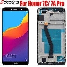 Originele Display Voor Huawei Honor 7C Lcd AUM L41 Display Touch Screen Digitizer Vergadering Atu LX1 / L21 Voor Huawei 7A pro AUM L29