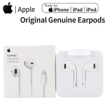 Apple Earpods Original Earphones 3.5mm Plug & Lightning In-Ear Sport Earbuds Deep Richer Bass Headset For iPhone/iPad 1