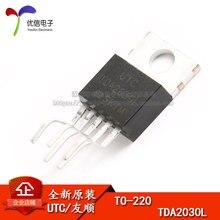 10 pces tda2030l TO 220Linear amplificador de potência áudio proteção térmica de curto circuito original