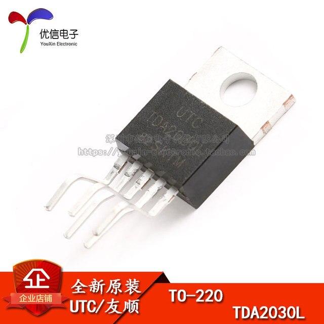 10pcs TDA2030L TO 220Linear Audio eindversterker kortsluiting thermische bescherming originele