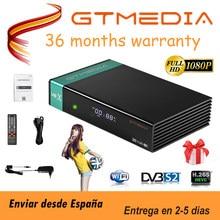 Receptor de satélite gtmedia v8x DVB-s2/s2x do receptor do fta mesmo que gtmedia v7 s2x com usb wifi h.265 gtmedia v8 decodificador da honra