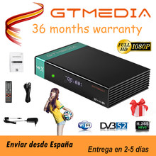 FTA приемное устройство gtmedia V8X DVB-s2/S2X-цифра спутниковый телевизионный ресивер такой же, как и gtmedia V7 s2x с USB Wi-Fi, H.265 GTMEDIA v8 honor декодер