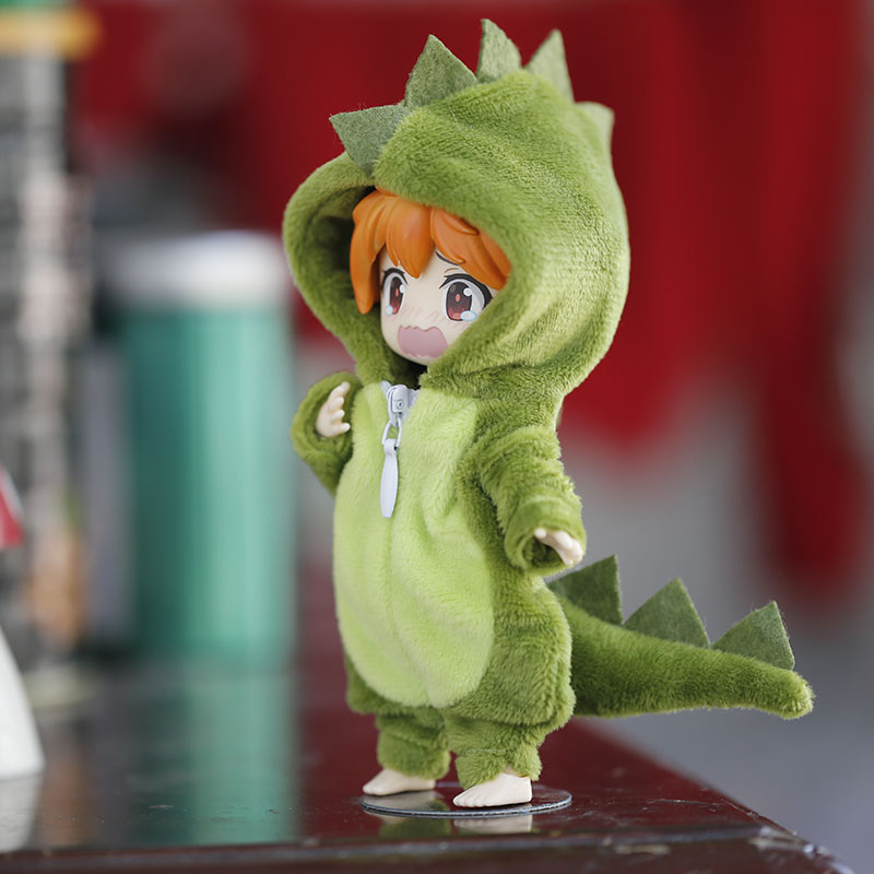 New Cute Dinosaur animal monster Doll Clothes for ob11,obitsu 11,molly, gsc,1/12 BJD Doll Accessories Clothing BJD Baby Clothes