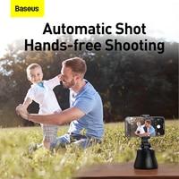 Baseus Smart Bluetooth Selfie Stick 360° Rotation Al Following Shot Tripod Head Auto Face Object Tracking Hands-free Shooting
