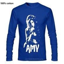 Amy - White Stencil T Shirt Amy Winehouse 27 Club British Jazz London Singer Rock Band Punk Band Metal Band