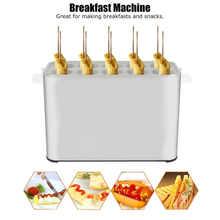 10 отверстий яйцо колбаса машина diy автоматический с мягким