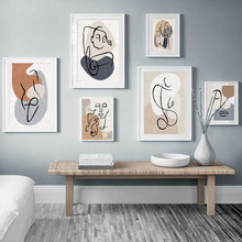 Abstract Line Color Block nude Body Art Nordic Posters And Prints Wall Art Canvas Painting Wall Pictures For Living Room Decor abstract minimalist sexy line woman wall art canvas painting nordic posters and prints wall pictures for living room home decor
